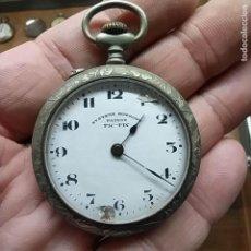 Relojes de bolsillo: ANTIGUO RELOJ DE BOLSILLO - MARCA SYSTEM ROSKOPF PATENT PIC PIC - SWISS MADE?- NO FUNCIONA - 44 MM. Lote 292239538