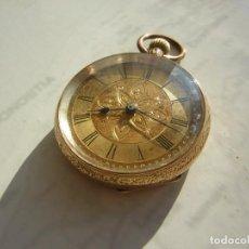 Orologi da taschino: RELOJ DE BOLSILLO DE ORO 18KT (KILATES) AÑO 1880-1885. Lote 292523068