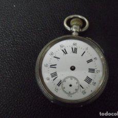 Orologi da taschino: ANTIGUO RELOJ BOLSILLO EN PLATA PUNZONADA- AÑO 1890 - FUNCIONA- LOTE 259-39. Lote 293282388
