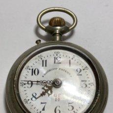 Orologi da taschino: RELOJ DE BOLSILLO, ROSKOPF PATENT AUTENTICO. DECADA1890. FUNCIONA BIEN.. Lote 293487618