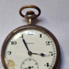 Relojes de bolsillo: ANTIGUO RELOJ DE BOLSILLO ARMOSA, FUNCIONANDO. Lote 293603533