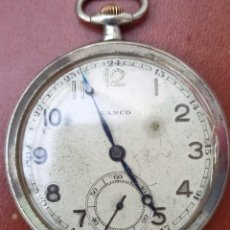 Relojes de bolsillo: ANTIGUO RELOJ DE BOLSILLO LANCO FUNCIONANDO. Lote 293640643