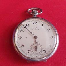 Relógios de bolso: RELOJ DE BOLSILLO MICONOS 15 RUBIS FUNCIONA .MIDE 44.7 MM DIAMETRO. Lote 294372793