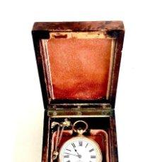 Relojes de bolsillo: NUEVO LISTING. UNICO 1858 HAAS & PRIVAT #3 CHAUX DE FONDS NÚMERO DE SERIE 49.253 CAJA ORIGINAL.. Lote 295455208