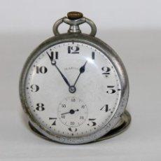 Relojes de bolsillo: RELOJ DE BOLSILLO MARCA MARNIA SWISS MADE REMONTOIR ANCRE CON DOBLE TAPA. Lote 296572148