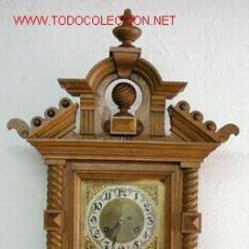 Relojes de pared: RELOJ PARED C1880. Lote 12286436