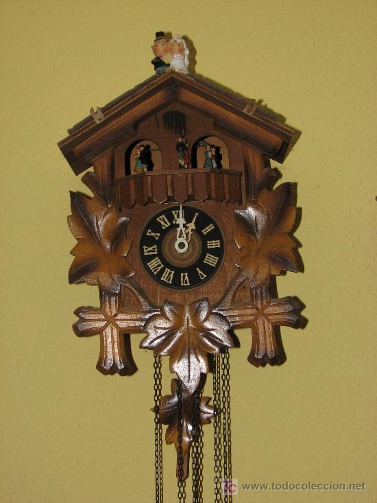 Reloj De Pared De Cuco Comprar Relojes Antiguos De Pared En Todocoleccion 27452330