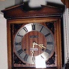 Relojes de pared: RELOJ DE PARED 30 DIAS CUERDA. Lote 19546590