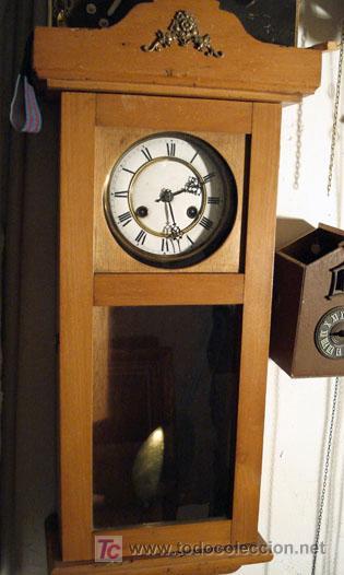 RELOJ DE PARED ALFONSÍN JUNGHANS (Relojes - Pared Carga Manual)