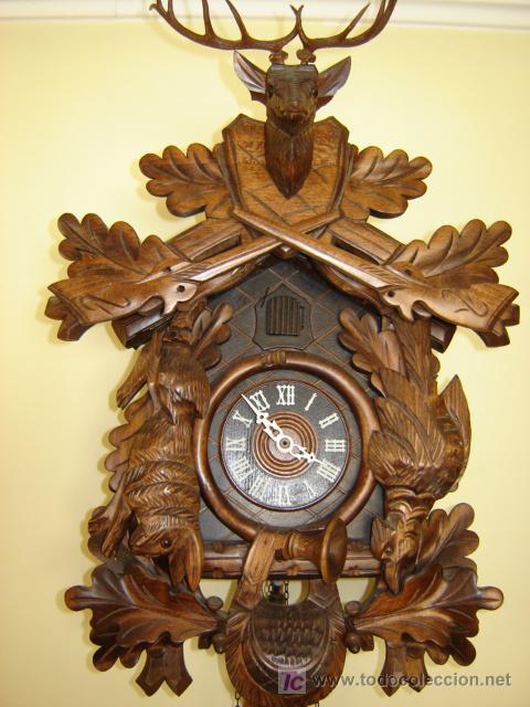 Reloj de cuco cucu alem n de villingen selva ne comprar - Comprar mecanismo reloj pared ...
