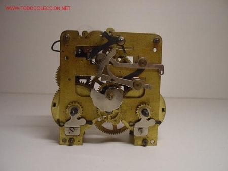 Maquinaria de reloj antiguo comprar relojes antiguos de - Maquinaria de reloj de pared con pendulo ...