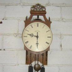 Relojes de pared: RELOJ DE PARED FUGIL TEMPUS. Lote 10580882