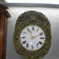 Relojes de pared: RELOJ MOREZ REAL FINALES DEL XIX.. Lote 19667374