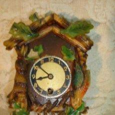 Relojes de pared: RELOJ SELVA NEGRA EN MINIATURA. Lote 11704175