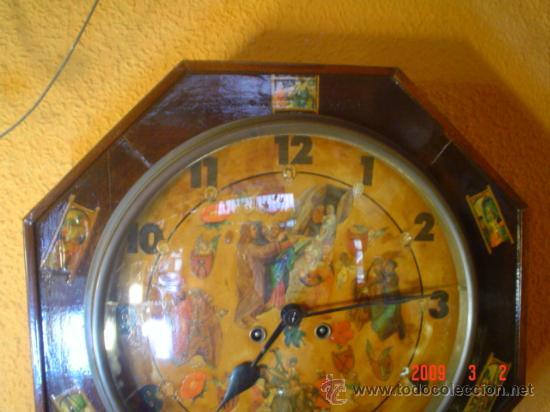 Relojes de pared: RELOJ SIGLO XIX - Foto 2 - 27018191