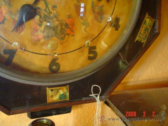 Relojes de pared: RELOJ SIGLO XIX - Foto 4 - 27018191