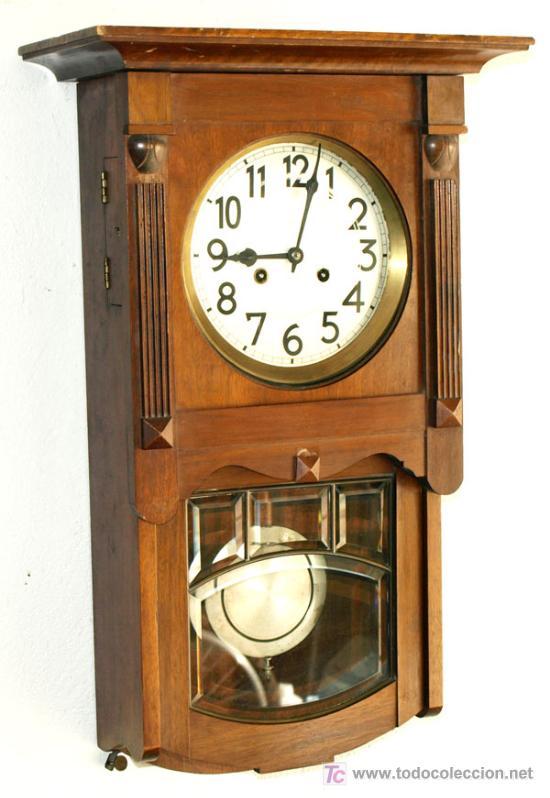 Relojes de pared: RELOJ DE PARED JUNGHANS - Foto 2 - 12913554
