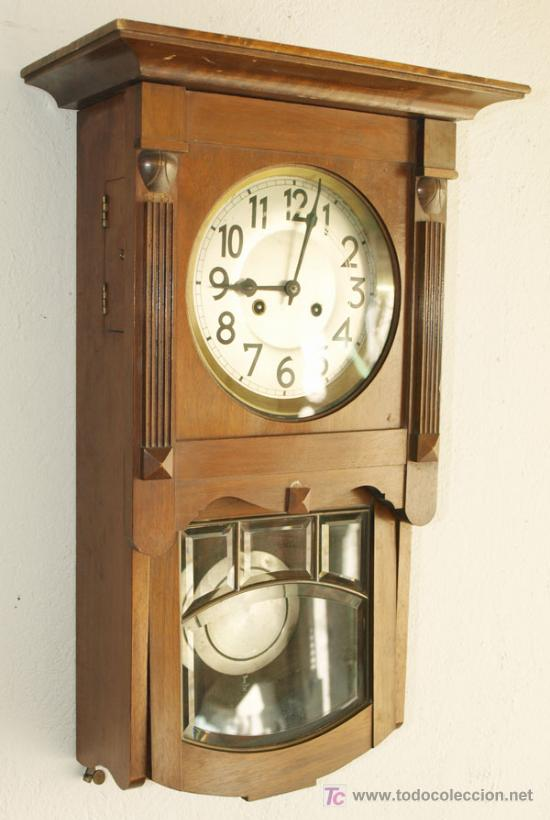 Relojes de pared: RELOJ DE PARED JUNGHANS - Foto 4 - 12913554