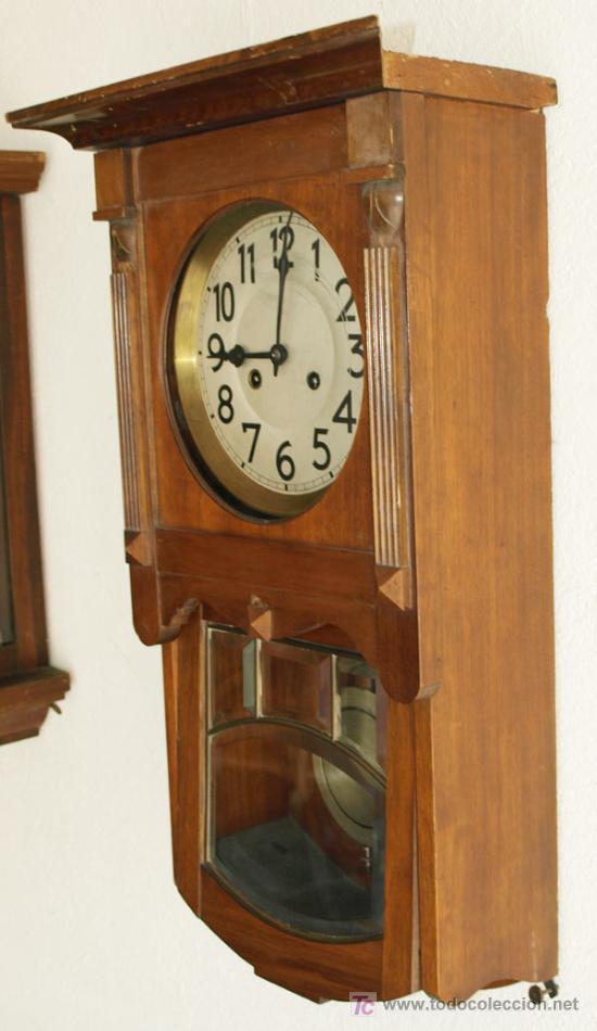 Relojes de pared: RELOJ DE PARED JUNGHANS - Foto 5 - 12913554