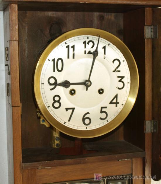Relojes de pared: RELOJ DE PARED JUNGHANS - Foto 6 - 12913554