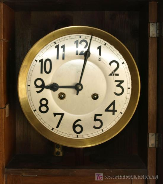 Relojes de pared: RELOJ DE PARED JUNGHANS - Foto 7 - 12913554