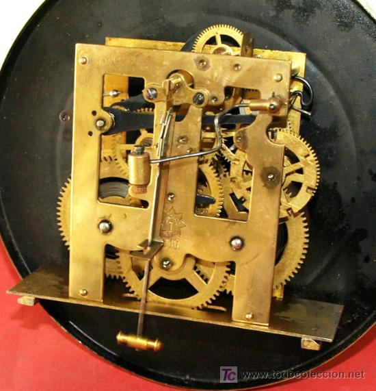 Relojes de pared: RELOJ DE PARED JUNGHANS - Foto 10 - 12913554
