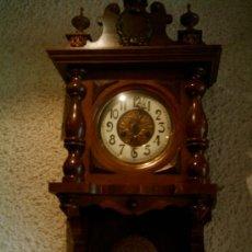 Relojes de pared: RELOJ ALEMAN SIGLO XIX. Lote 27603365
