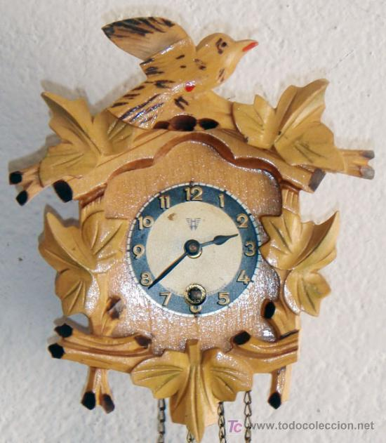 Relojes de pared: RELOJ DE CUCO PEQUEÑO - Foto 2 - 12984750