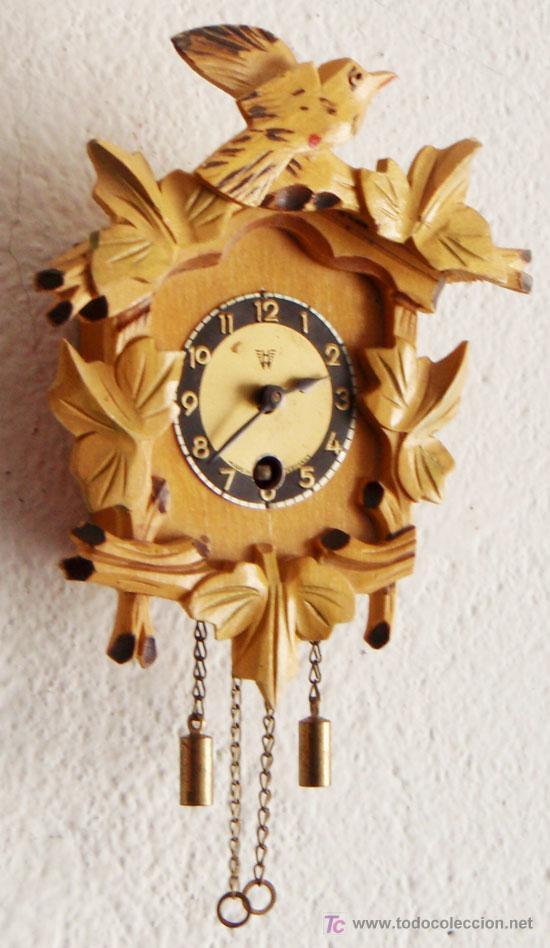 Relojes de pared: RELOJ DE CUCO PEQUEÑO - Foto 3 - 12984750