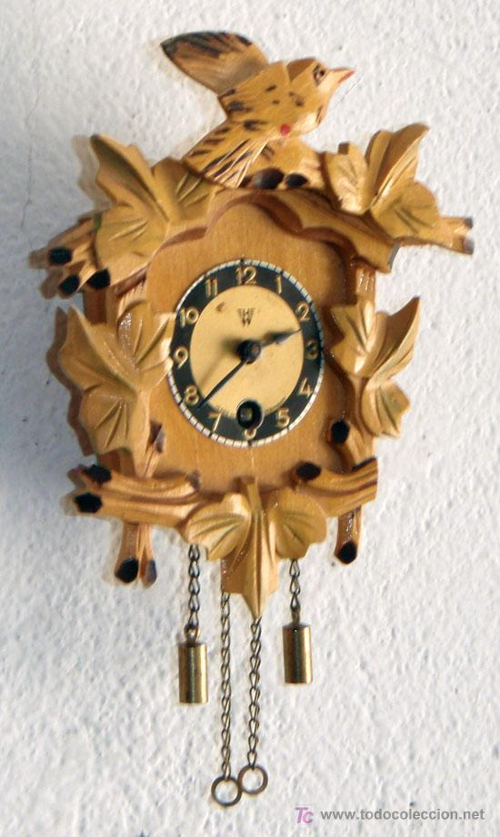 Relojes de pared: RELOJ DE CUCO PEQUEÑO - Foto 4 - 12984750