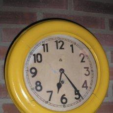 Relojes de pared: RELOJ ESCUELA!!! AÑO 1920. Lote 13499860