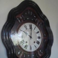 Relojes de pared: RELOJ ANTIGUO -MOREZ- OJO DE BUEY. Lote 27121131