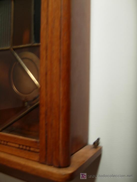 Relojes de pared: LIQUIDACION RELOJ DE PARED MODERNISTA CON CAJA DE ROBLE. ADMITO OFERTAS - Foto 11 - 171362437