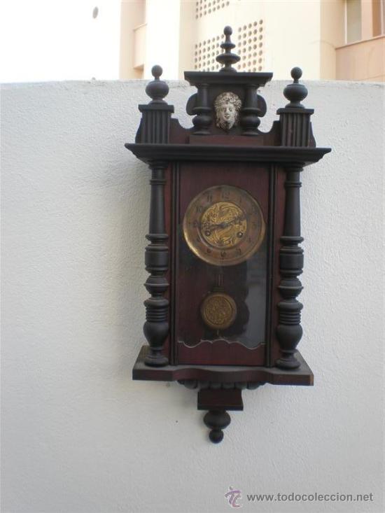 FRELOJ DE PARED ANTIGUO (Relojes - Pared Carga Manual)
