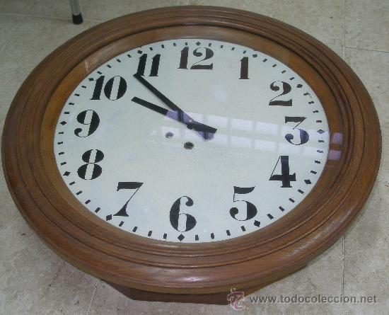 GRAN RELOJ ESTACION 66 CMS. DIAMETRO (Relojes - Pared Carga Manual)