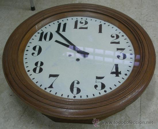 Relojes de pared: GRAN RELOJ ESTACION 66 CMS. DIAMETRO - Foto 2 - 24668415