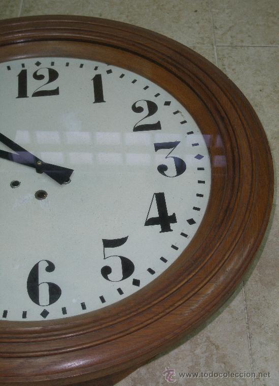 Relojes de pared: GRAN RELOJ ESTACION 66 CMS. DIAMETRO - Foto 3 - 24668415