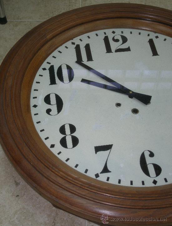 Relojes de pared: GRAN RELOJ ESTACION 66 CMS. DIAMETRO - Foto 4 - 24668415