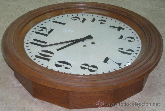 Relojes de pared: GRAN RELOJ ESTACION 66 CMS. DIAMETRO - Foto 5 - 24668415