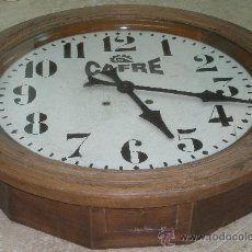 Relojes de pared: GRAN RELOJ ESTACION 66 CMS. DIAMETRO. Lote 24668416