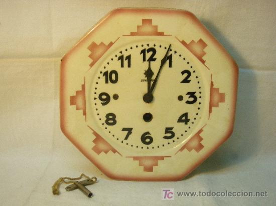 RELOJ DE PARED JUNGHANS ART-DECO (Relojes - Pared Carga Manual)