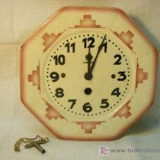 Relojes de pared: RELOJ DE PARED JUNGHANS ART-DECO. Lote 27582365