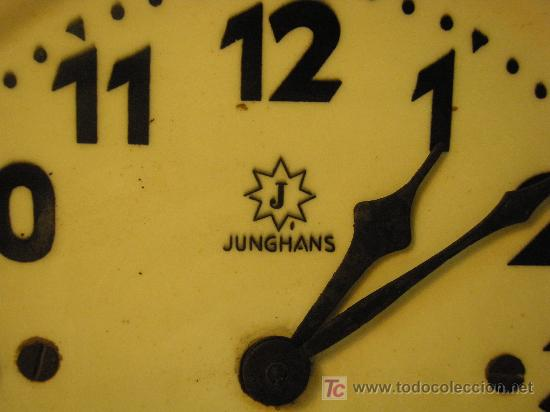 Relojes de pared: RELOJ DE PARED JUNGHANS ART-DECO - Foto 2 - 27582365