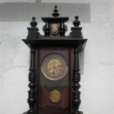 Relojes de pared: RELOJ DE PARED AMERICANO JUNGHA. Lote 23379497