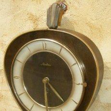 Relojes de pared: ANTIGUO RELOJ PARED ALEMAN A CUERDA MARCA MAULHE,, FUNCIONANDO CORRECTAMENTE ,,, REL365. Lote 27564151