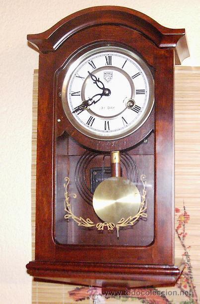 Reloj de pared en madera con pendulo y soneria comprar - Maquinaria de reloj de pared con pendulo ...