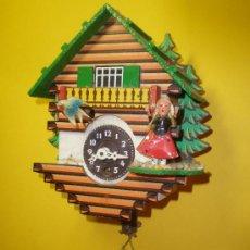 Relojes de pared: RELOJ CUCÚ. Lote 21026282