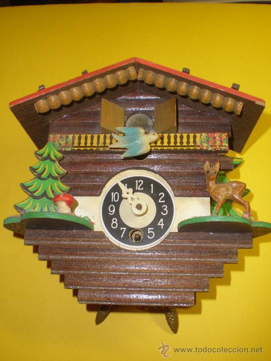 RELOJ CUCÚ (Relojes - Pared Carga Manual)