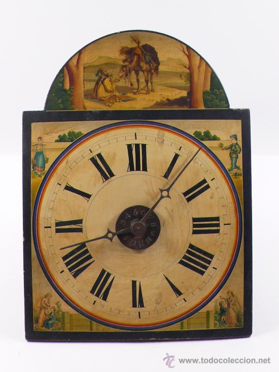 RELOJ TIPO RATERA, DE UNA CAMPANA. (Relojes - Pared Carga Manual)