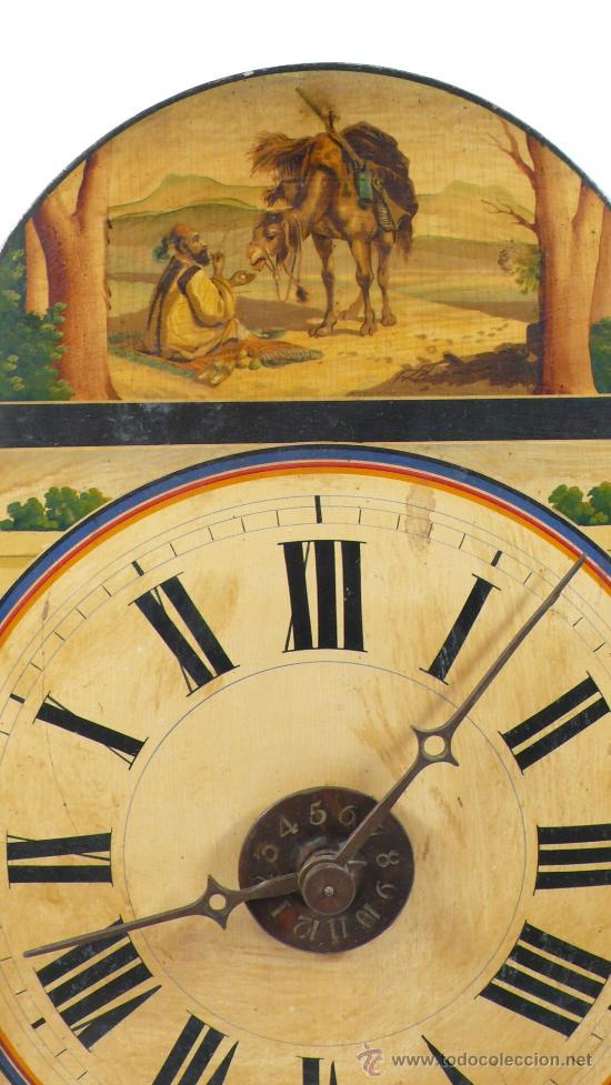 Relojes de pared: Reloj tipo ratera, de una campana. - Foto 7 - 21628574